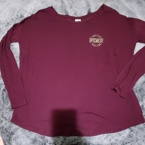 Super soft long sleeved shirt from Pink VS